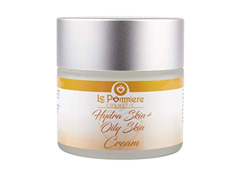 Crema viso idratante pelli grasse, miste e acneica 50 ml. Anti-invecchiamento con acido ialuronico per uomo o donna. Burro di karitè, coenzima Q10 e vitamina A, E. Per adolescenti, giovani e adulti