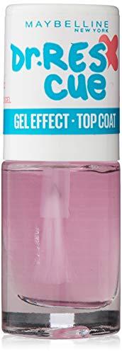 Maybelline New York Dr Rescue Gel Effect Top Coat Effetto Gel, 6.7 ml