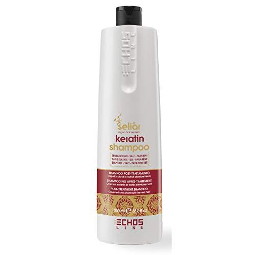 Echosline Seliar Keratin Shampoo Post Trattamento per Capelli Colorati
