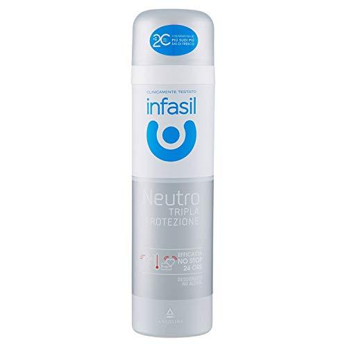 Infasil INF001111 Deo Spray Tripla Protezione, 150 ml