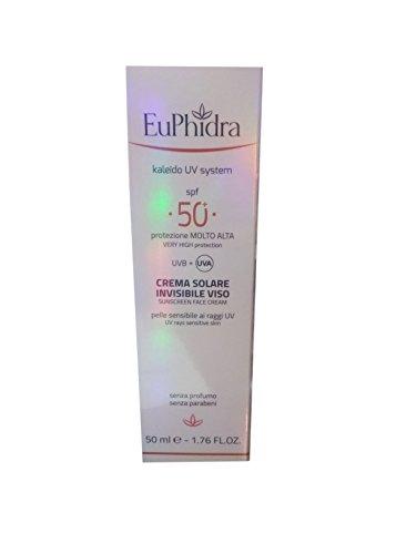 Zeta Farmaceutici Euphidra Ka Uvsys Crema Viso Invisibile, Spf 50+ - 50 ml
