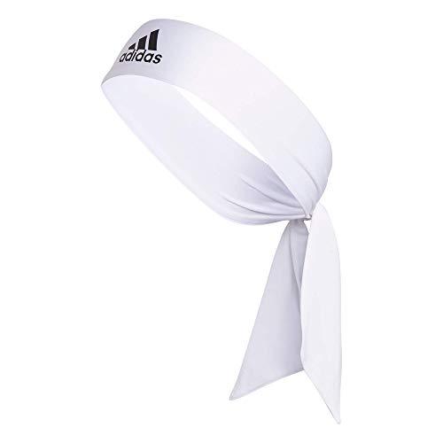 Adidas Alphaskin Tie fascia, Unisex, Bianco/nero