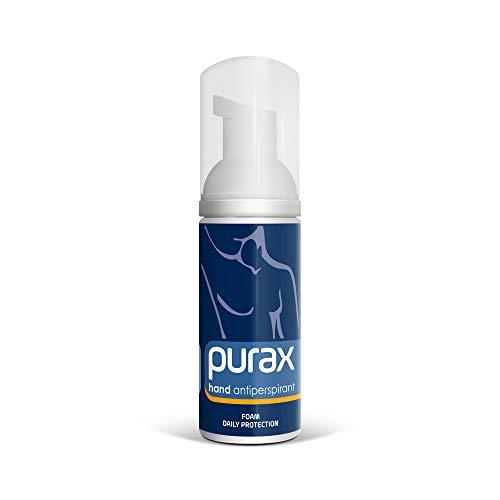 Purax, schiuma per mani, antitraspirante, 50ml