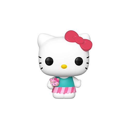 Funko- Pop Figura in Vinile Sanrio: Hello Kitty-HK (Sweet Treat) (Swt Trt) Collezione, Multicolore, 43473