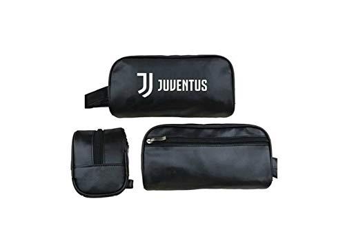 fc juventus beauty case colore nero prodotto ufficiale