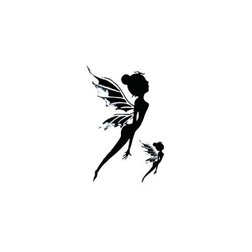 YLGG Adesivi Tatuaggio temporaneo Moda Fatine, Adatti per Uomini e Donne, Impermeabili, Rimovibili