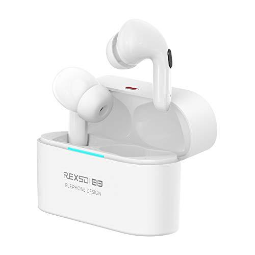 Elephone Cuffie Bluetooth senza fili con cancellazione attiva del rumore, ANC cuffie cancellazione del rumore, 6,5-7 ore di riproduzione permanente, 4 microfoni integrati