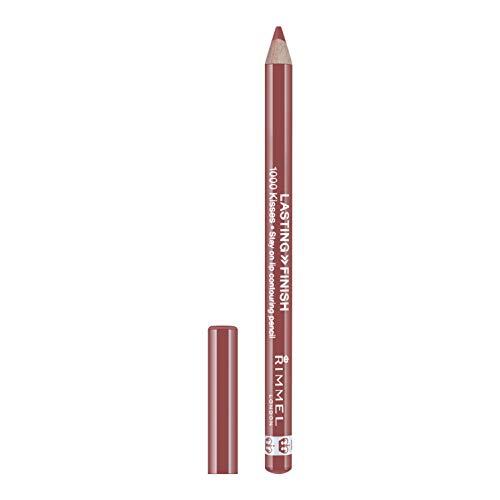 Rimmel London Matita Labbra Lasting Finish 1000 Kisses Pencil, 011 Spice, 1.2 g