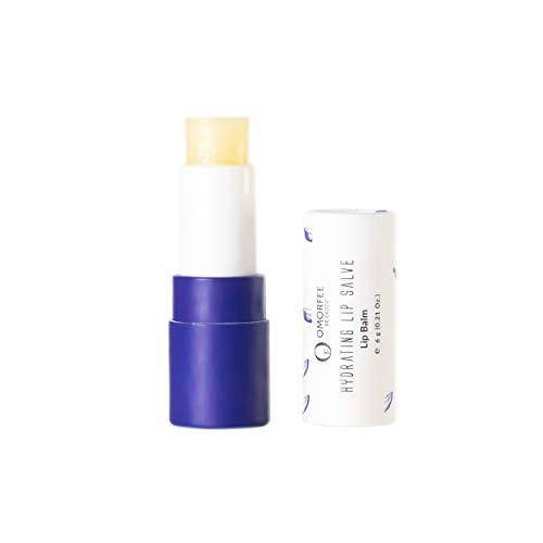 OMORFEE Rossetto idratante 100% organico, rossetto per labbra secche, rossetto per labbra screpolate, idrata e ammorbidisce le labbra molto secche - 6 g/0.21 once