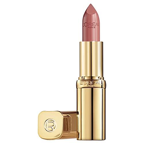 L'Oréal Paris Rossetto Lunga Tenuta Color Riche Collezione Standard, Finish Effetto Satinato, 630 Beige A Nu