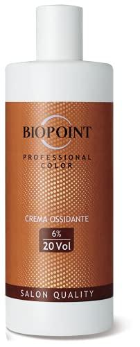 BIOPOINT Crema ossidante 20 volumi Professional Color - Crema Ossidante 6% 20 Volumi - 360ml