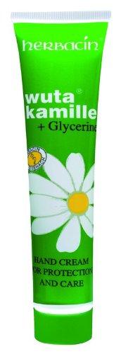 Idratante Creme Herbacin per camomilla Mani e Pot 75 ml di glicerina vegetale