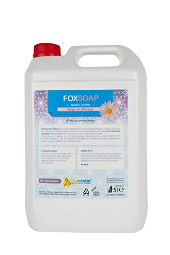 FoxSoap sapone liquido PH 5.5 mani e corpo - 5L