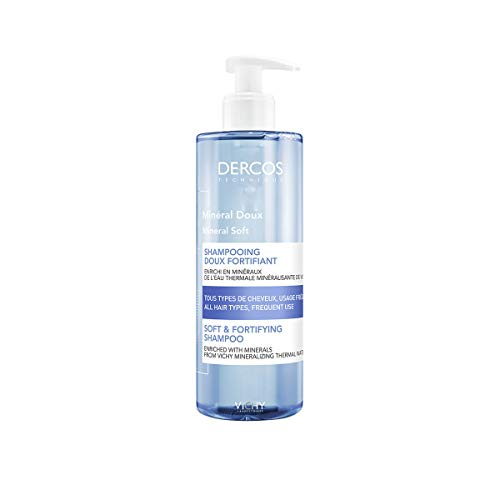 Vichy, Dercos Shampoo minerale, Shampoo Unisex, 400 ml