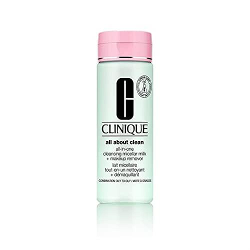 Clinique All About Clean Latte Micellare e Struccante Tutto-in-Uno, Skin Type 2, 200 ml