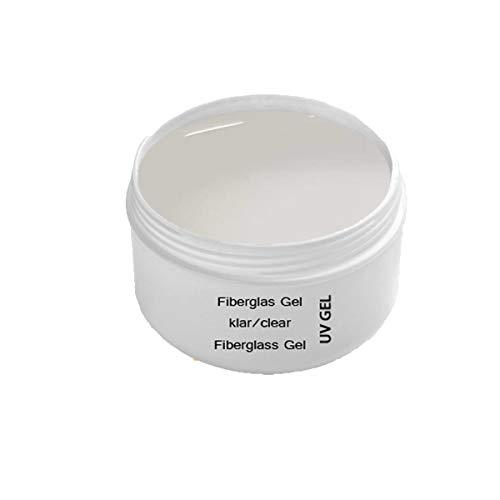 UV Fibreglass Clear 30 ml transparente - Linea Premium Gel - finitura, corporatura, adesivo – Top Coat – Monofase Gel