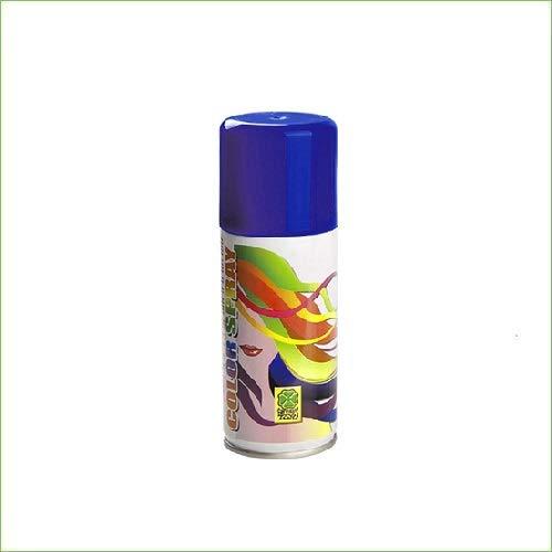 Palucart 1 bomboletta Spray Colore Capelli temporaneo colora i Tuoi Capelli per Feste Party Bambini e Ragazzi lacca Colorata (Blu)