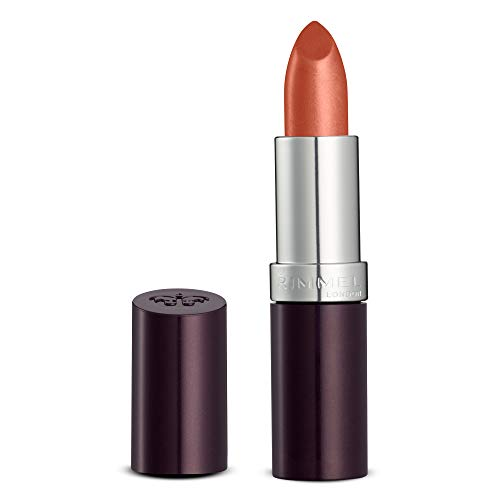 Rimmel London Lasting Finish Intense Wear, Rossetto, Coral In Gold