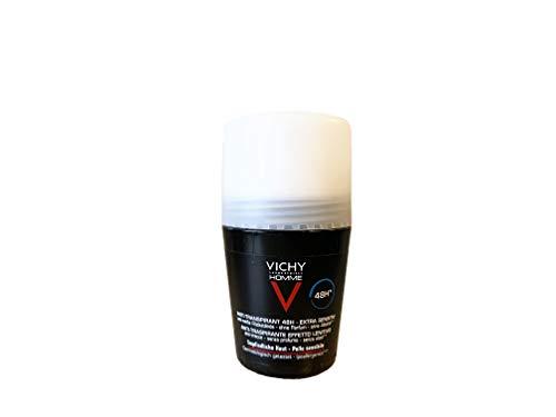 Vichy Homme Deodorante anti-traspirante 72 H Roll on, 50 ml