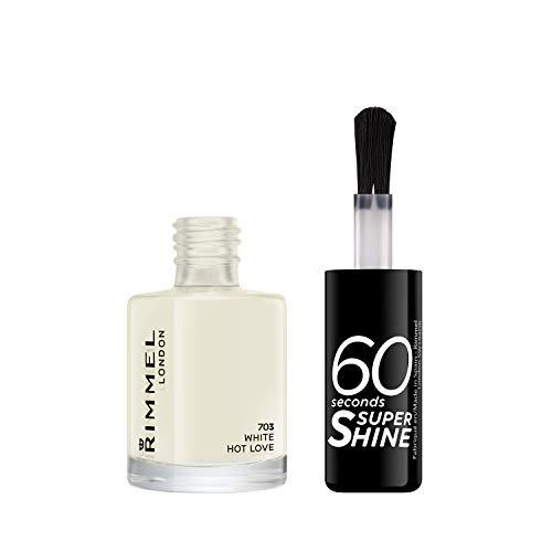 Rimmel London – Smalto per unghie 60 Seconds Super Shine, 8 ml