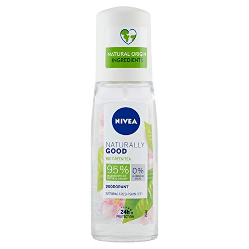 Beiersdorf Nivea Deodorante Naturally Good Pump Spray - Bio Green Tea - 196 g