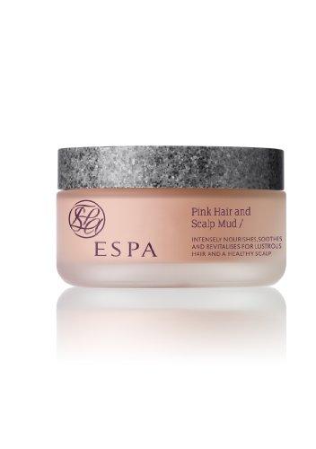 ESPA - Fango rosa per capelli e cuoio capelluto, barattolo da 180 ml