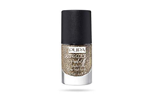 Pupa Lasting Color Peel-off Smalto Glitter 003 Golden Treasure
