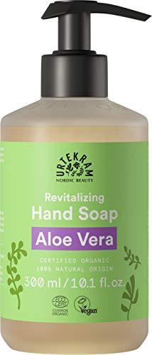 Urtekram Aloe Vera - Sapone liquido per le mani biologico rigenerante, 380 ml