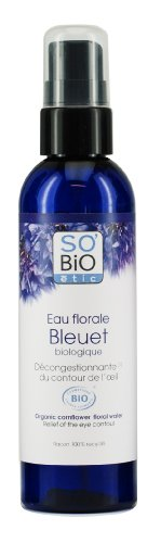 So'Bio ETIC Fiordaliso acqua floreale Bio decongestionante del contorno occhi 200 ml Set di 2