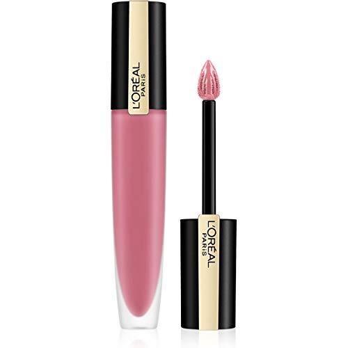 L'Oréal Paris Tinta Labbra Rouge Signature, a Lunga Tenuta, Formula Leggera e Finish Extra Matte, 105 I Rule, 8,5 ml