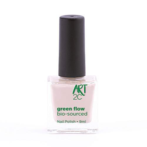Art 2C, smalto per unghie vegan e bio 85% brevettato, ultra-puro, 24 colori, 9 ml, colore: Ivory 20