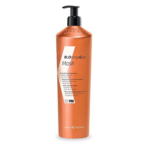 KEPRO Kay Pro No Orange Gigs MASCHERA ANTI-ARANCIO per capelli colorati con toni scuri 1000ml