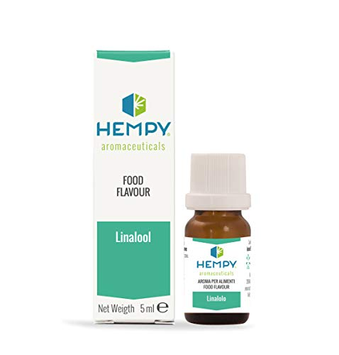 HEMPY LINALOLO- L'Aroma della Calma- terpene puro Naturale dell'olio essenziale di Lavanda e coriandolo. 5 ml