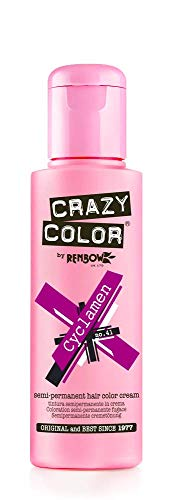 Renbow Crazy Color No.41 Cyclamen Semi-Permanent Cream 100ml