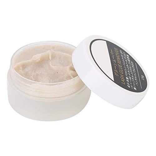 15g Crema professionale per rimuovere le ciglia, Crema per la rimozione della colla per l'estensione delle ciglia Crema per rimuovere la colla per ciglia finte