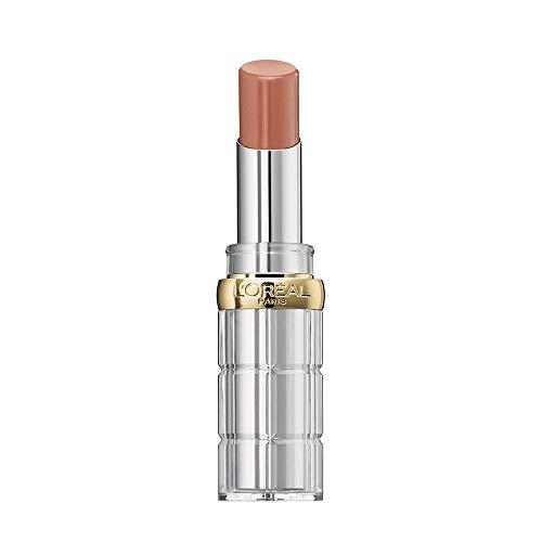 L'Oréal Paris Rossetto Idratante Color Riche Shine, Finish Lucido per Labbra Effetto Laccato, 656 Beige in the City