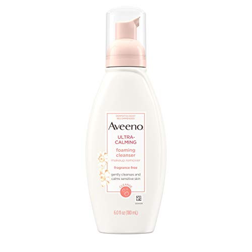 Aveeno Active Naturals Ultra-Calming Foaming Cleanser Fragrance-Free 175 ml