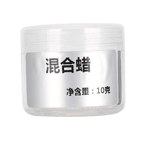Cera per rossetto, 10 g Materiale fai-da-te Rossetto naturale puro, ideale per balsami per labbra, lozioni, cera per rossetto Easy Melt di qualità cosmetica, strumento per rossetto fai-da-te