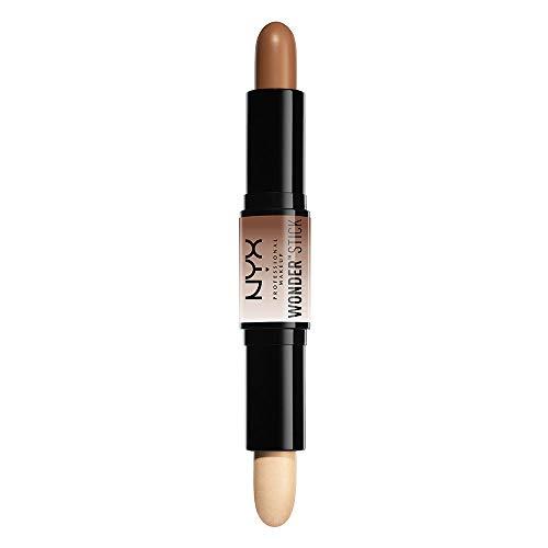 NYX Professional Makeup Matitone Wonderstick, Doppia terminazione, per contouring on the-go, Texture cremosa, Tonalità: Universal