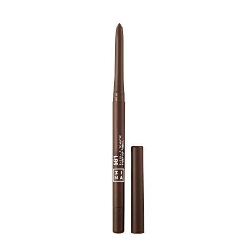 3INA MAKEUP - Vegano - Cruelty Free - The 24h Automatic Eyebrow Pencil 561 - Matita Automatica Soppracciglia - Waterproof a Lunga Tenuta - Temperino Integrato - Marrone caldo