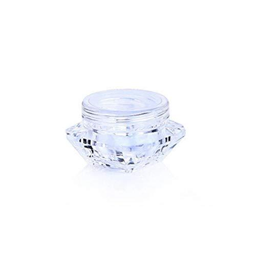 PiniceCore 1pc Cosmetici Campione Vuoto Contenitore in Plastica Trasparente Cosmetici Pot Vasi per Bottle Ombretto Polvere Nails