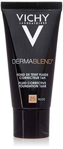 Vichy Dermablend Fondotinta Correttore, 25 Nude - 30 ml