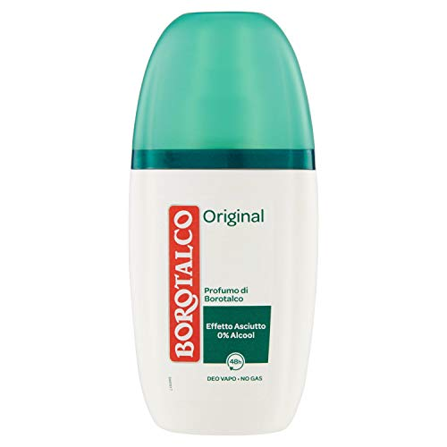 Borotalco Deodorante Vapo Original, 75 ml
