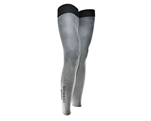 Coppia gambali ossigenanti OXEEGO Full Leg Recovery post-gara calze per recupero muscolare ALL01