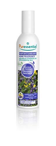 Puressentiel – Profumo per ambiente agli oli essenziali – Douceur de Provence – Lavandino grosso, Limone e Albero del Tè, Elimina i cattivi odori – 90 ml