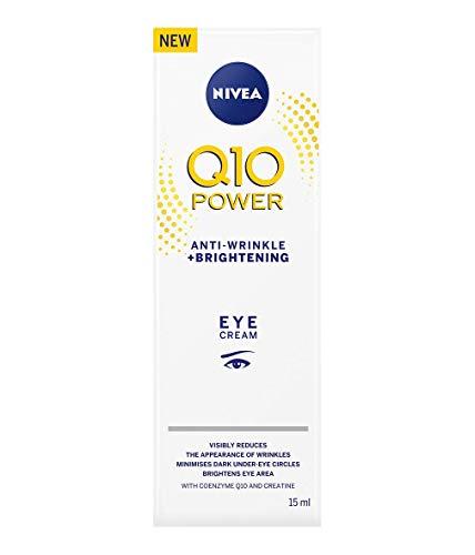NIVEA Q10 Power Eye Cream, crema anti-rughe + schiarente 15 ml