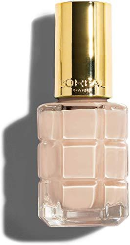 L'Oréal Paris Color Riche Colore ad Olio Smalto per Unghie, Arricchito da Olii Preziosi, 114 Nude Demoiselle