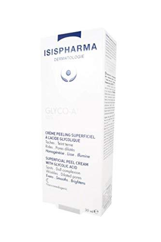 GLYCO-A 10%, Crema all'acido glicolico per peeling superficiale della pelle, anti-invecchiamento, per rughe e macchie scure, 30 ml