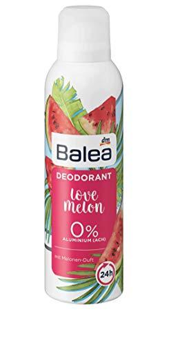 Balea Love Melon Deodorante, 1 x 200 ml, 0% alluminio
