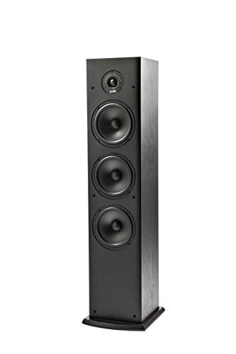 Polk Audio T50 - Altoparlante da Pavimento, 4 Vie, Colore Nero